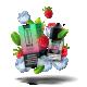 BANTAM Raspberry Menthol Salts 30ml