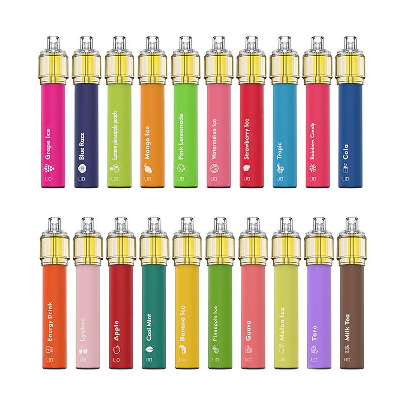 ijoy lio bee 18 max disposable vape flavors