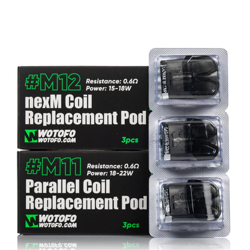wotofo manik mini replacement pods all types