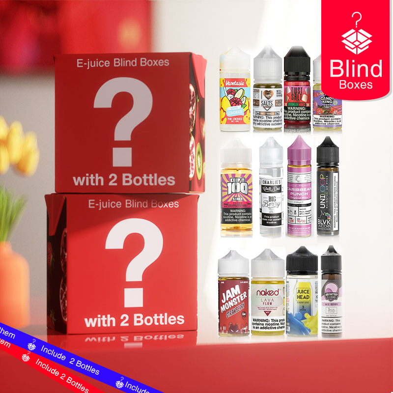 E-Juice Blind Box (with 2 Bottles) Shipping From USA
