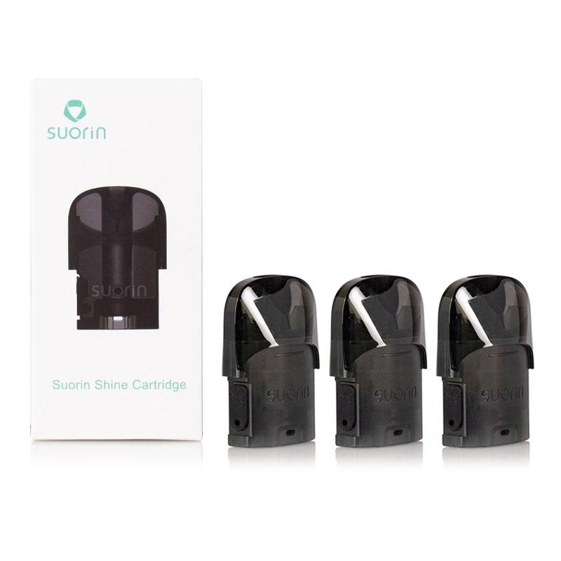 suorin shine replacement pods package contents