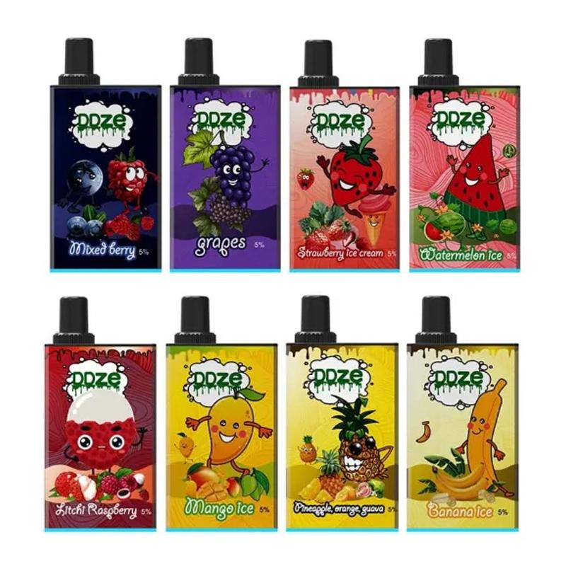 ddvapor ddze disposable vape kit flavors