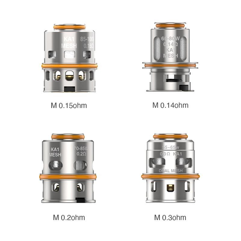 geekvape m series coils - resistances