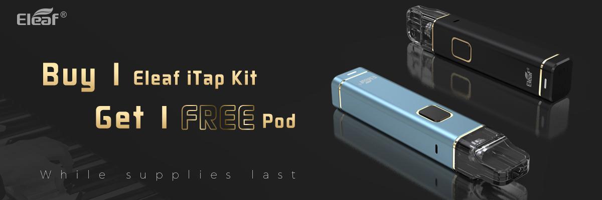 eleaf itap kit buy 1 get 1 free gift
