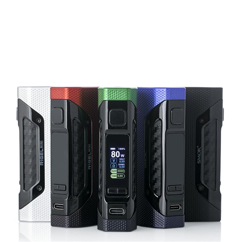 smok rigel mini box mod 80w full colors