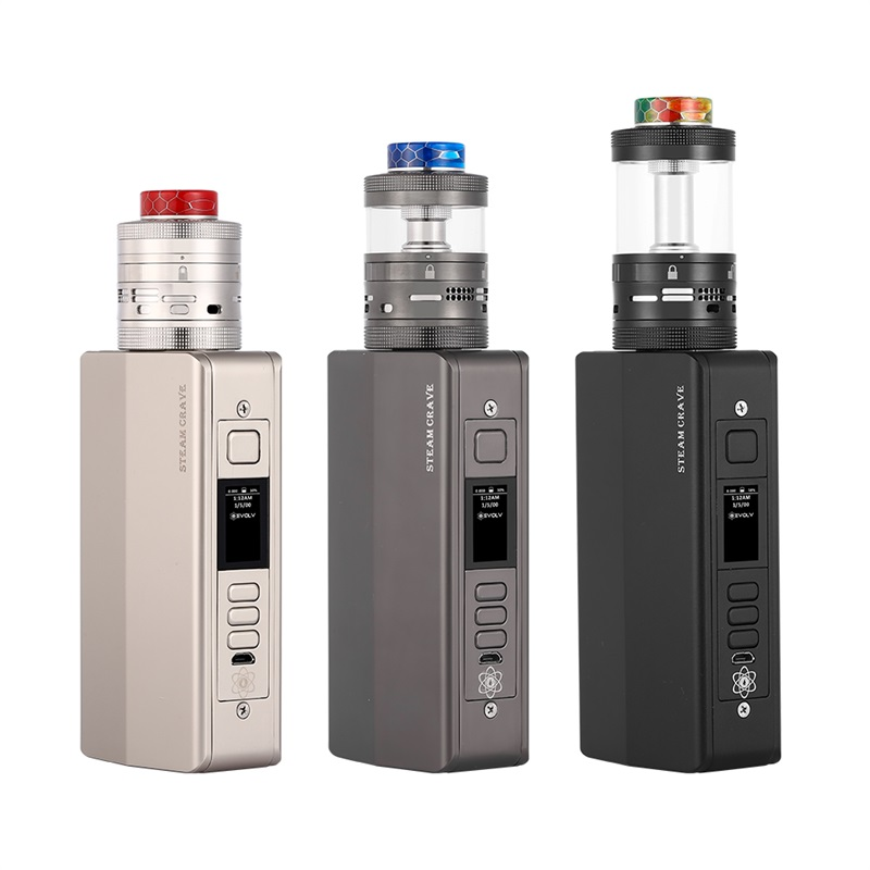 Steam Crave Hadron Pro Combo Kit with Aromamizer Ragnar RDTA