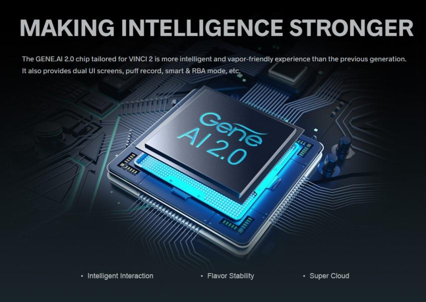 vinci 2 with GENE.AI 2.0 chip