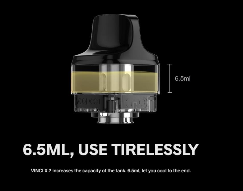 voopoo vincix 2 kit 6.5ml