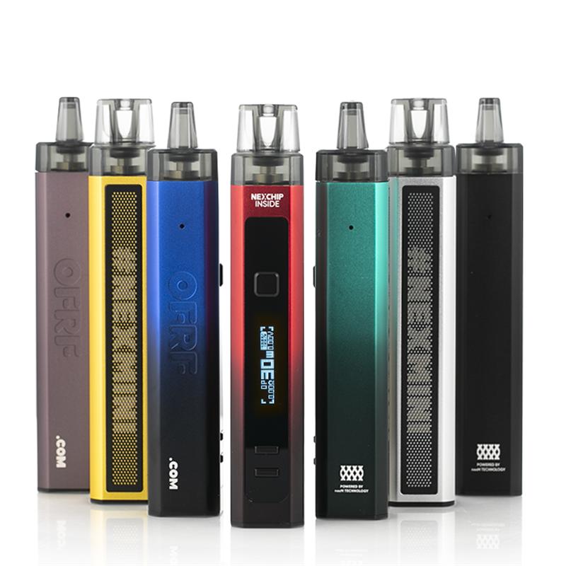 ofrf nexmini 30w pod kit colors