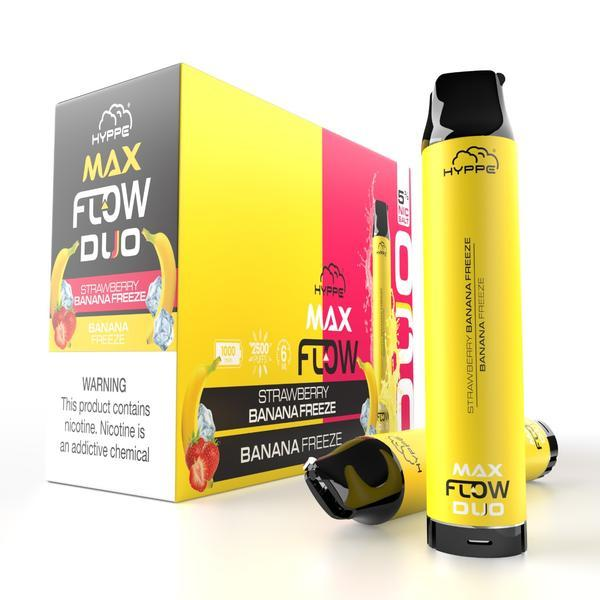 Hyppe Max Flow Duo Disposable Vape Kit review