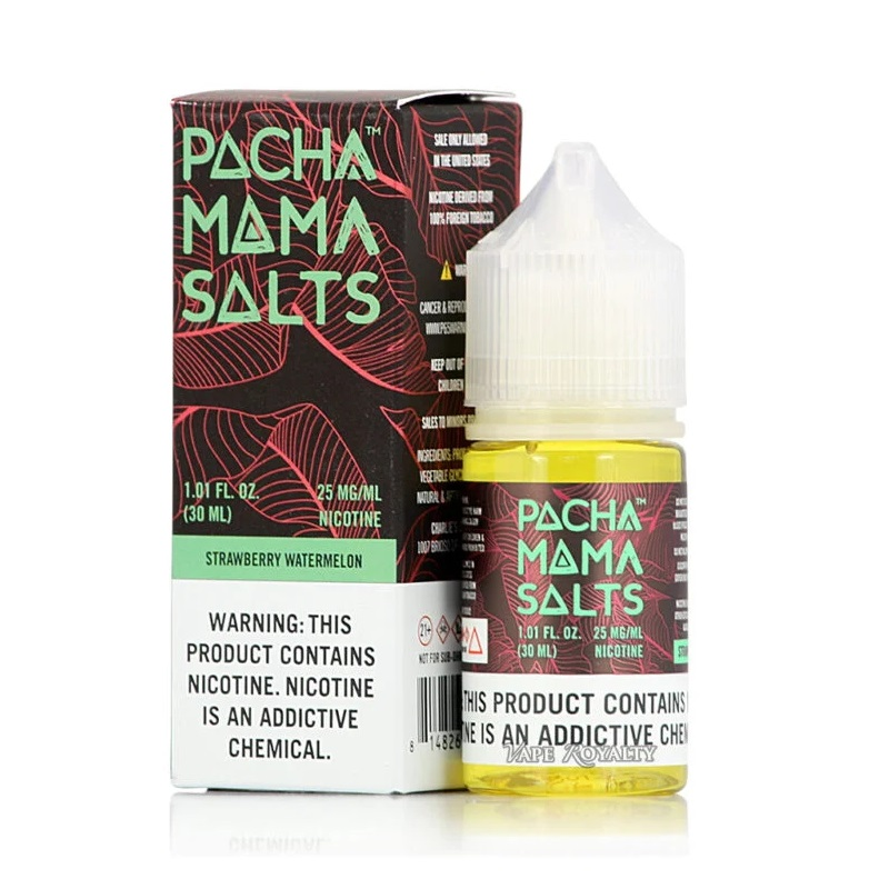 Pachamama Salts Strawberry Watermelon E-juice 30ml