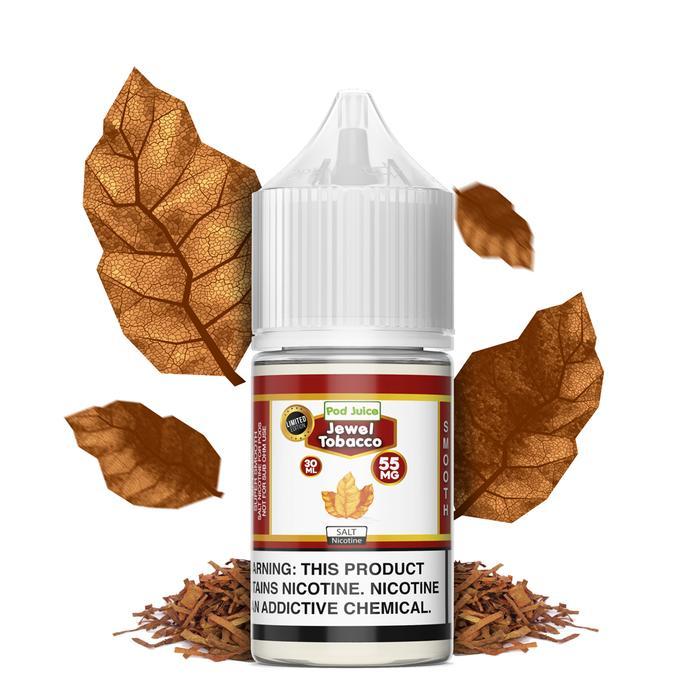 Pod Juice Salts Series Jewel Tobacco E-juice 30mL