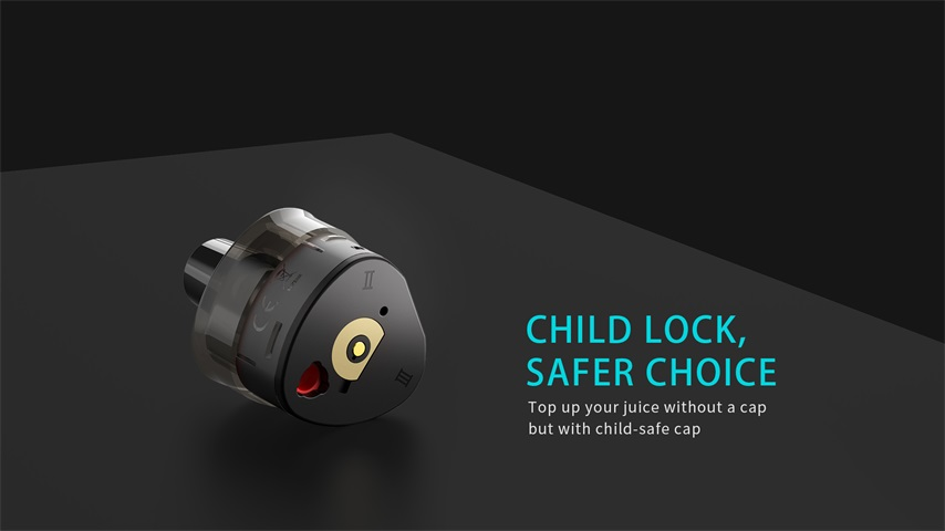 Uwell WHIRL T1 POD with Child-lock