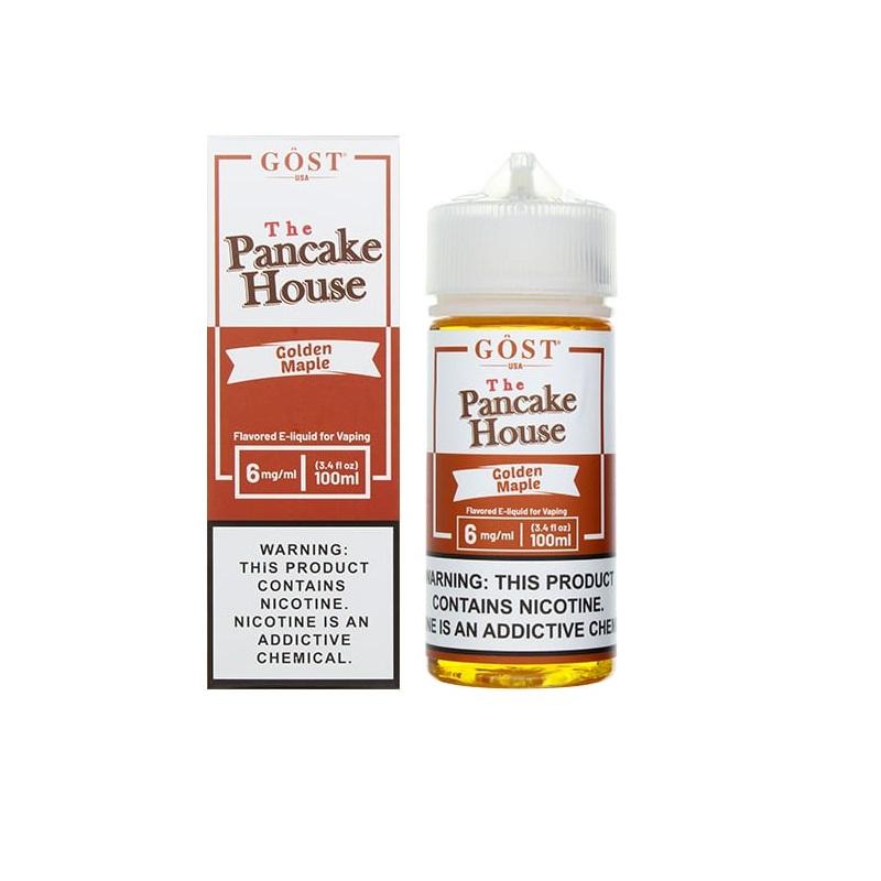 GOST VAPOR Pancake House Golden Maple E-juice 100ml