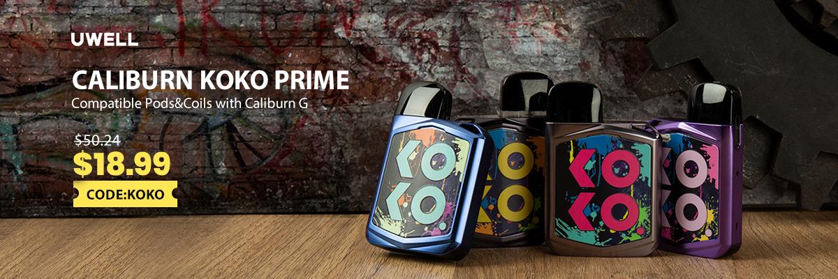 Uwell Koko Prime Kit 18.99USD/pc
