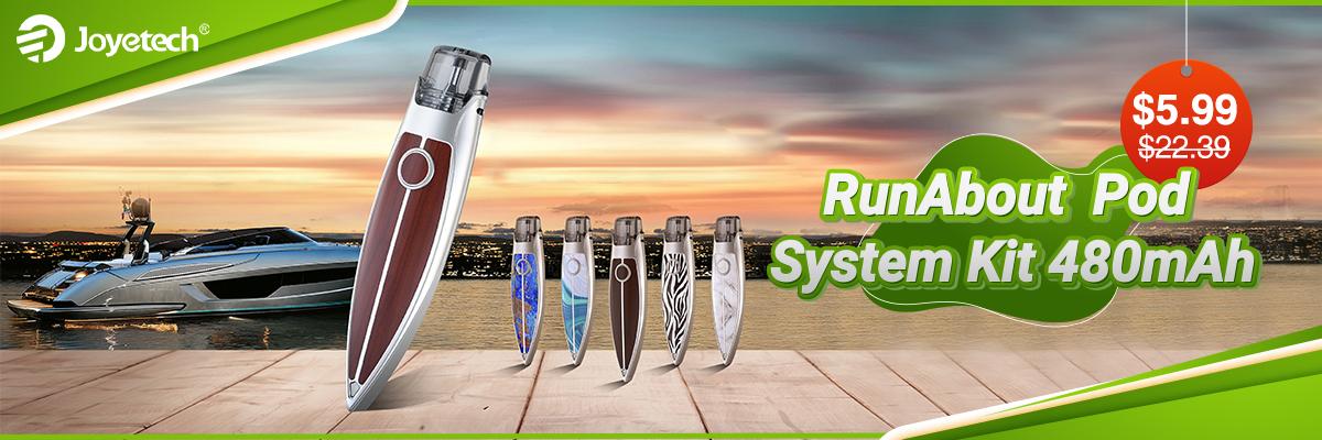 Joyetech RunAbout Pod System Kit $5.99