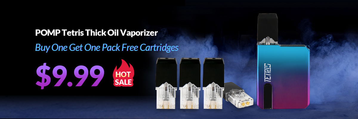 POMP Tetris Thick Oil Vaporizer Buy One Get One