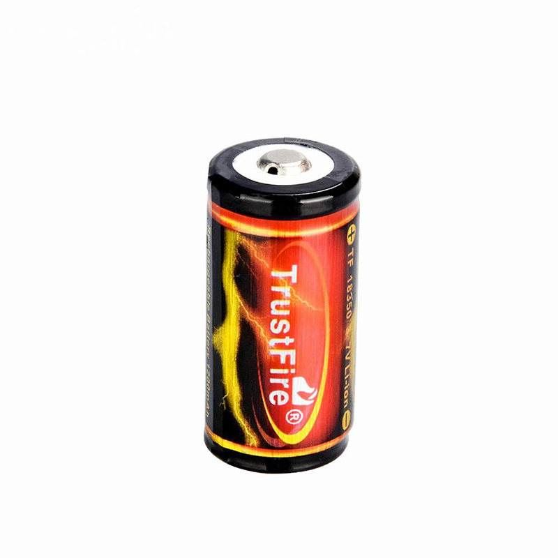 TrustFire 18350 3.7V 1200mAh Rechargeable Battery