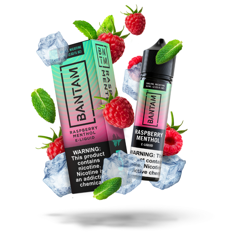 Bantam Raspberry Menthol E-Juice 60ML