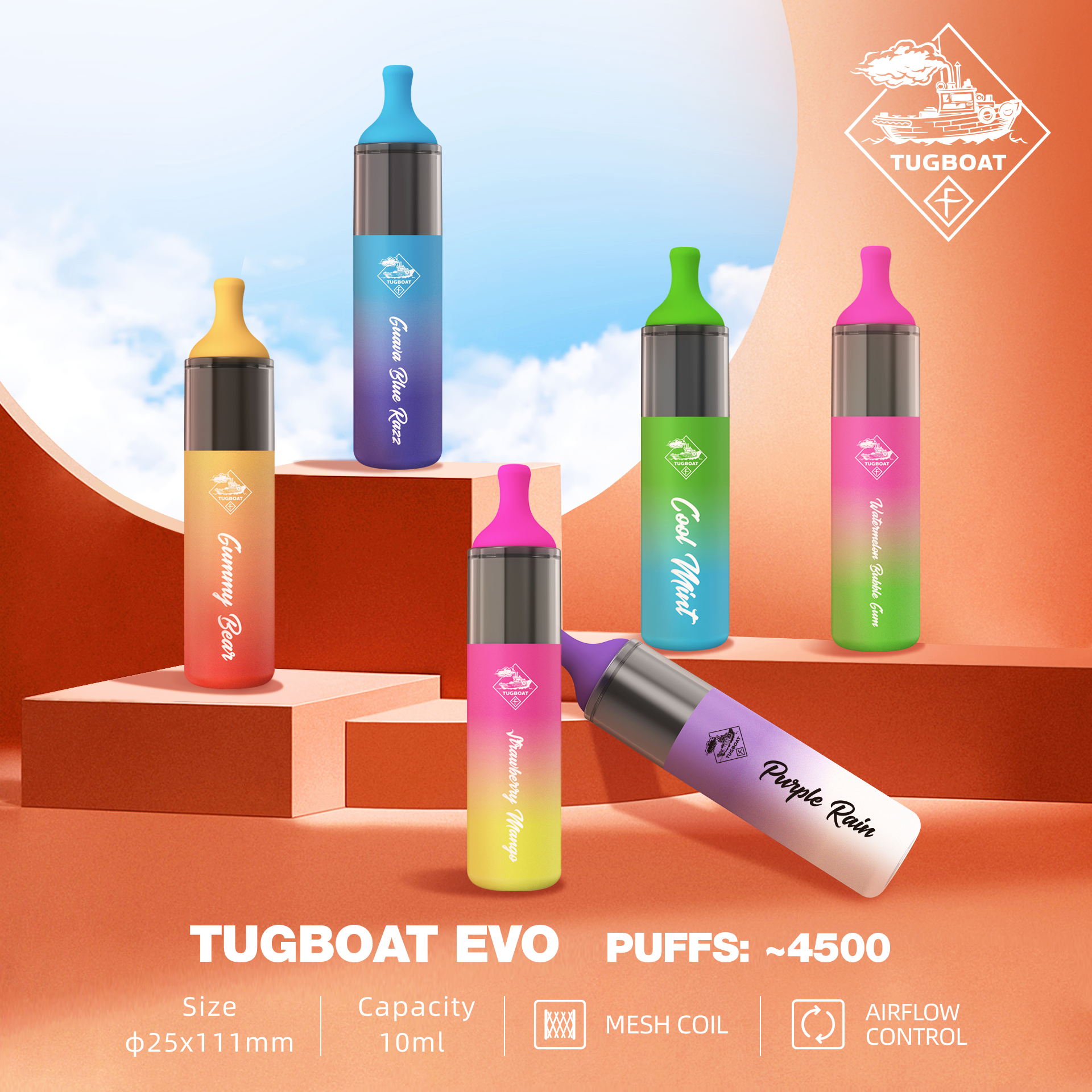 TUGBOATEVODisposable Kit